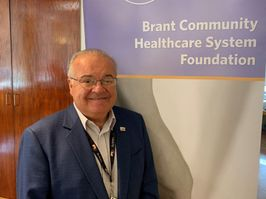 Mario Colombo, Chair of the Brant Community Healthcare System Foundation