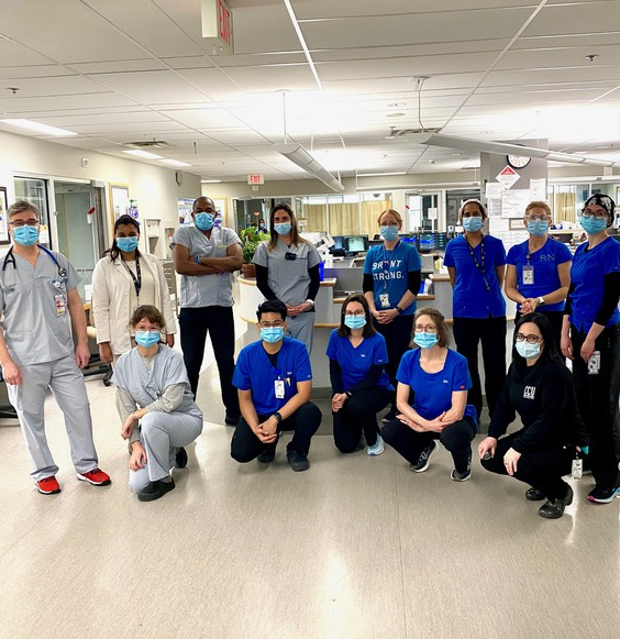 Critical Care Staff at BCHS