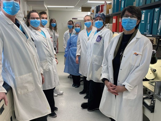BCHS lab meets challenges of pandemic
