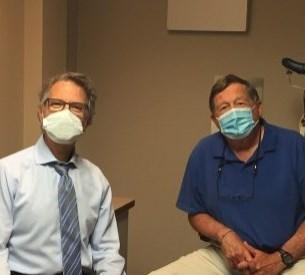 Gary Surette and Dr. Zanetti