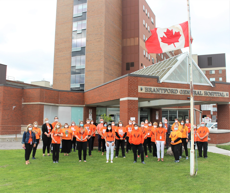 BCHS Recognizes Orange Shirt Day