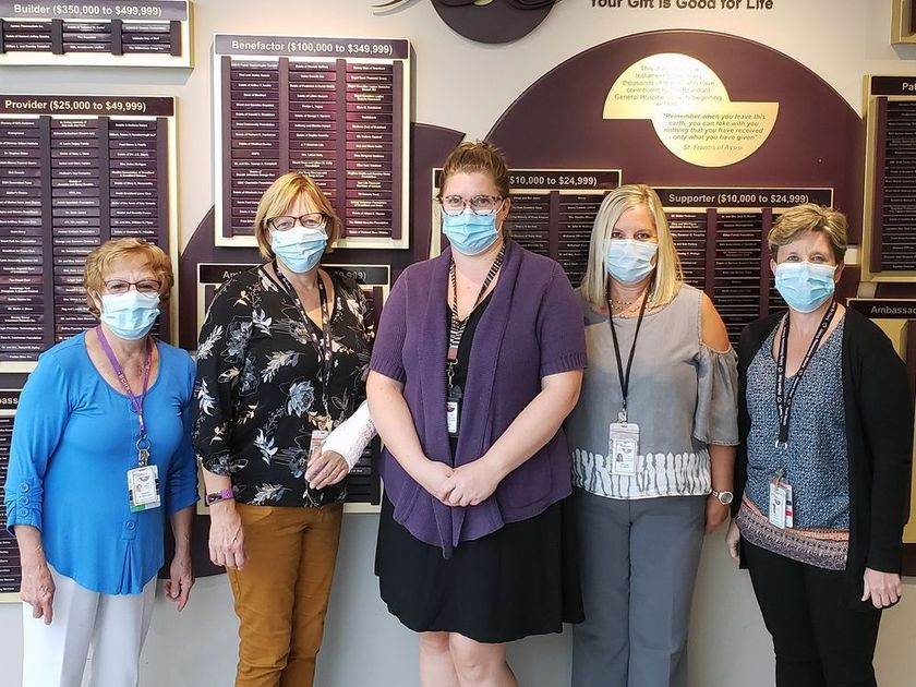 The Infection Prevention and Control Team at BCHS